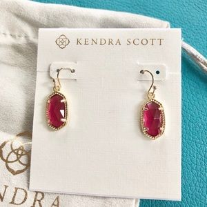 NEW✨ Kendra Scott Lee Gold Berry Drop Earrings